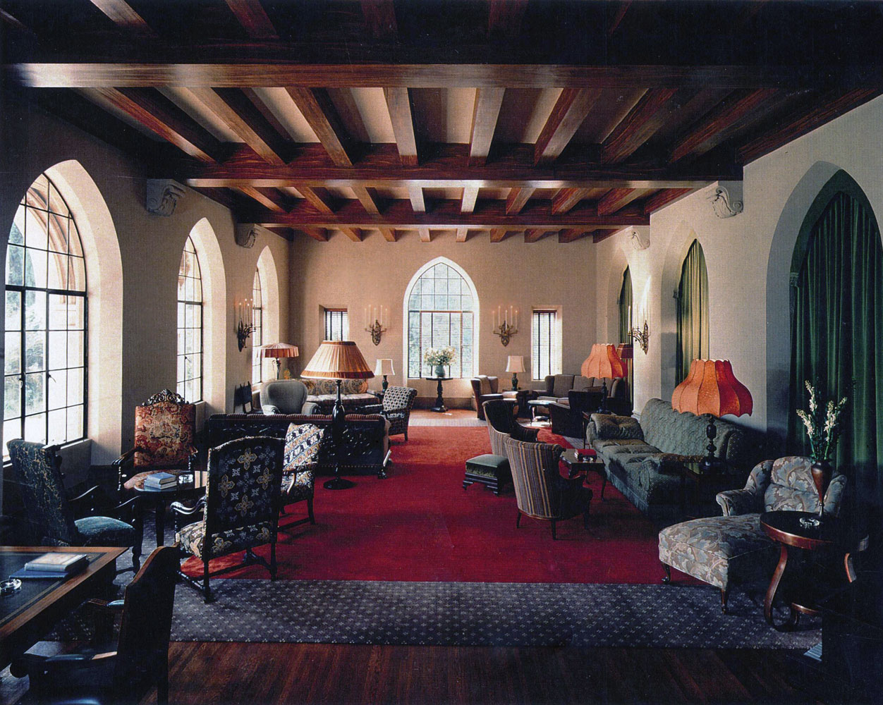 Pics for chateau marmont interior bungalows for Interior pics