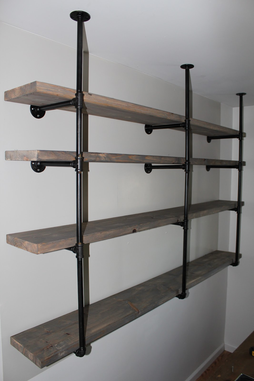 Free Standing Wood Shelves Plans