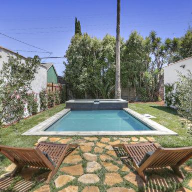 pool, kenihan development, new construction, los angeles, larchmont village, hancock park, melrose