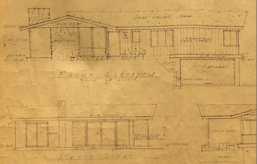 rodgerton, original plans, architecture, los angeles, hollywood hills